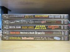 Lot of 5 NEW '4-Movie Pack' DVDs, 20 Movies,10 Discs:Thrillers,Action,Mystery5-1