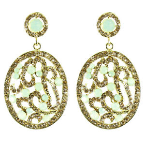 Fancy Art Deco Swarovski Party Costume Jewellery Earrings MORE COLOURS AVAILABLE