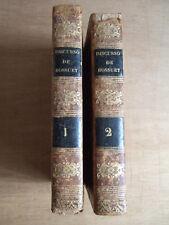 DISCURSO SOBRE LA HISTORIA UNIVERSAL.1834 J. B. BOSSUET - DON ANDRES DE SALCEDO