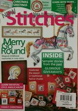 Mary Hickmott's New Stitches UK Scenes Roses Cross Stitch 259 FREE SHIPPING