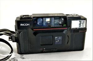 Vintage Ricoh FF-3 AF Super Point and Shoot 35mm Camera