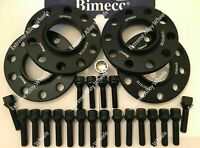 ALLOY WHEEL SPACERS 12mm / 15mm BMW F20 F21 F22 F23 M14X1.25 + LOCKERS BIMECC
