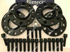 ALLOY WHEEL SPACERS 12mm / 15mm BMW X3 X4 F25 F26 M14X1.25 + LOCKERS BIMECC