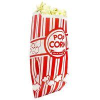 Popcorn Bags. Coated for Leak/Tear Resistance. Single Serving 1oz Paper...