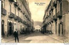 cm 108 1915 NOCERA INFERIORE (Salerno) Via Nicotera -viagg -FP Ed. Angora Nocera