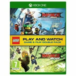 LEGO NINJAGO  GAME & MOVIE DOUBLE PACK XBOX ONE BRAND NEW SEALED