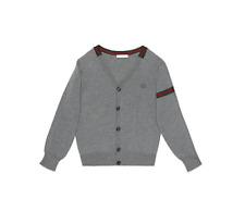 29ab3b478 Gucci Kids Boy Girl Wool Web Cardigan Sweater Pullover Size 36 month