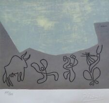 "PABLO PICASSO ""Bacchanal with Bull"" HAND NUMBERED 135/333 signed LITHOGRAPH"