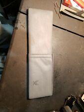 82-92 TRANS AM FIREBIRD TA USED OEM light grey GLOVE BOX DASH MAP POCKET great