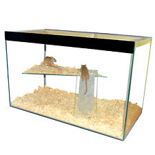 """Hamster , Gerbil, Mice Tank with lid and shelf and ladder 24"""" x 12"""" x 12"""""""
