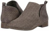 Dr. Scholl's Shoes Womens Rate Leather Almond Toe Ankle Fashion, Grey, Size 7.5