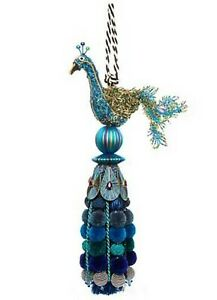 MacKenzie Childs Peacock Tassel, $108