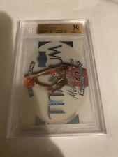Michael Jordan 1997-98 Metal Universe Titanium Acetate Insert BGS 10 Pristine