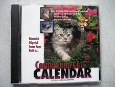 Cedco Publishing Captivating Cats Calendar Daily, weekly, Monthly w/Address Book