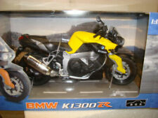 Automaxx 1:12 K1300R Yellow Motorcycle Plastic & Metal Model New