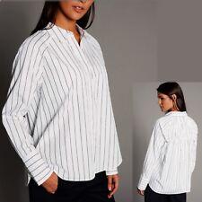 M/&S Ladies T-Shirt Cotton Half Sleeve Top V Neck Plain Various Colours Size 6-24