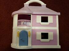 Blue Box Toys Carry Along Light Up Dream House Dollhouse