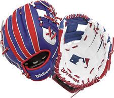 Wilson A200 Baseball Glove Red/white/blue 10 Inch