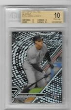 Aaron Judge 2017 Topps High Tek Blackout Graded BGS 10 Pristine 10, 10, 10, 9.5
