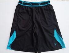 Old Navy Active Boys Polyester Black Blue Shorts Size Medium 8 Lightweight