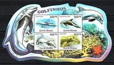 Guinée Bissau 2012 baleines feuillet n° 4001 à 4004 neuf ** 1er choix