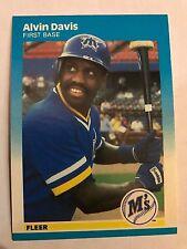 1987 Fleer Alvin Davis Seattle Mariners #584