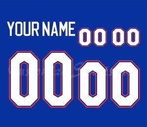 NCAA Florida Gators Football Number kit for 2013-Present Blue Jersey