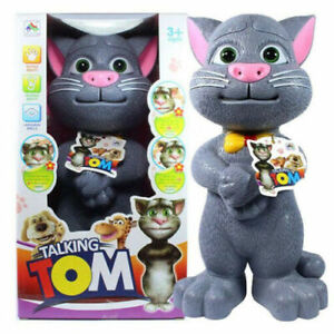 Intelligent Talking Tom Cat Talk Back Toy For Kids Fun TOY Gifts For Children