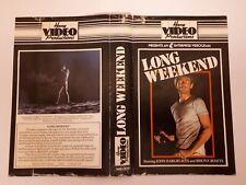 Long Weekend VHS Home Video Productions pre cert x Australian horror