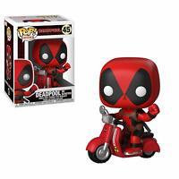 Deadpool & Scooter Collectible Figure, Multicolor