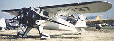 Luscombe 4 USA Civil Utility Airplane Wood Model Replica Small  Free Shipping