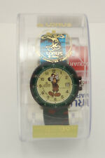 Vintage NIB Lorus Mickey Mouse Watch 50m Water Resistant Walt Disney Company F