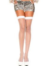 Collant, autoreggenti e parigine da donna in nylon glamour taglia S