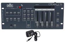 Chauvet DJ Obey 4 D-Fi 2.4 Wireless DMX Lighting Controller W/ D-FI Transmitter