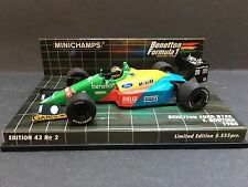 Minichamps - Thierry Boutsen - Benetton - B188 - 1:43 - 1988