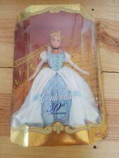 Walt Disney Cinderella 50th Anniversary Barbie Doll 1999 Collector Edition