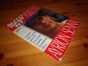 Portfolio AYRTON SENNA - Supplemento gigante a Autosprint del 1994 - Conti Ed.