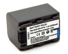 Battery for NP-FP70 SONY DCR-HC41 DCR-HC42 DCR-HC43 DCR-HC44 DCR-HC46 DCR-HC65