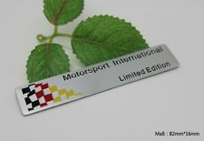 D281 Deutsch Flagge auto aufkleber 3D Emblem Badge Plakette car Sticker Alu Top