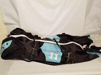 Warrior Black Lacrosse Equipment Duffel Duffel Bag Black Used Large Sports