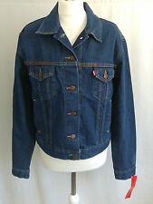 Levi's Button Casual Denim Coats & Jackets for Women