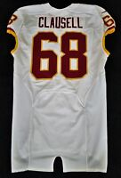 #68 Blaine Clausell of Washington Redskins NFL Locker Room Game Issued Jersey
