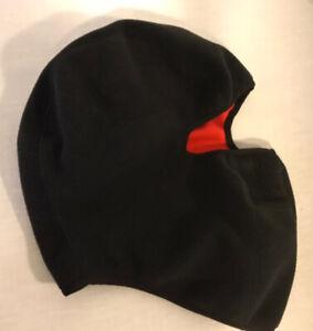 Winter/Snow/Ski Embark Fleece Balaclava Head Face Mask Hat - Black Youth L