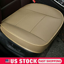 Universal 3D PU Leather Deluxe Car Seat Cover Front Seat Chair Cushion Protector
