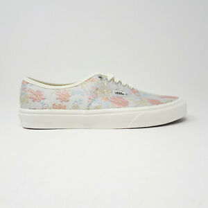 NEW Vans Authentic Floral Print Tapestry Skate Shoe Sneaker Size Men 8 Women 9.5