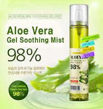 FROM NATURE Organic Aloe Vera Soothing gel 98% Fresh Mist 118g / Korea Cosmetic