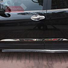 Stainless Steel Chrome Body Door Side Molding Cover For Honda CR-V CRV 2015 2016
