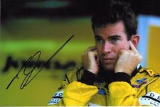 Ralph Firman SIGNED F1 Jordan-Ford Portrait  2003 Grand Prix Season