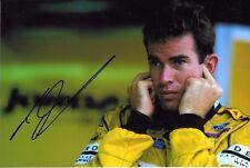 Ralph Firman SIGNED F1 Jordan-Ford Portrait  2003 Grand Prix Season