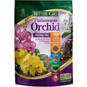 8-Quart  Phalaenopsis 8-Quart Organic Potting Soil Mix